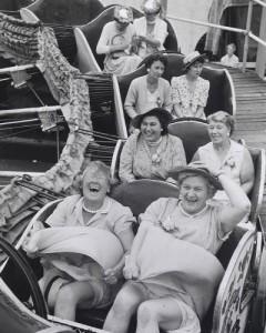 women-rollercoaster